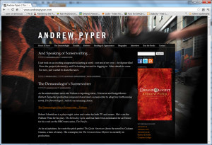 Andrew Pyper, author website