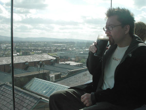 Allen Zuk, at the Guinness Brewery in Dublin